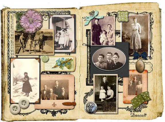 Vintage Family Photo Album