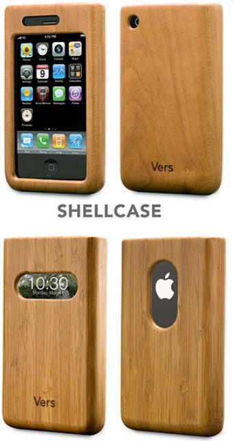 Vers wood Iphone Case