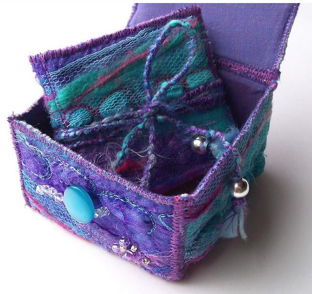 Textile Mini Book