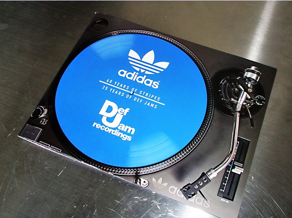 Def Jam and adidascover book
