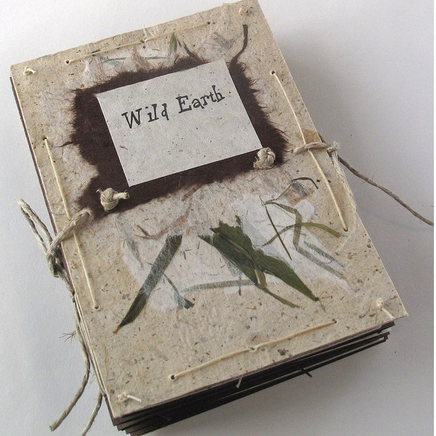 Wild Earth accordion book