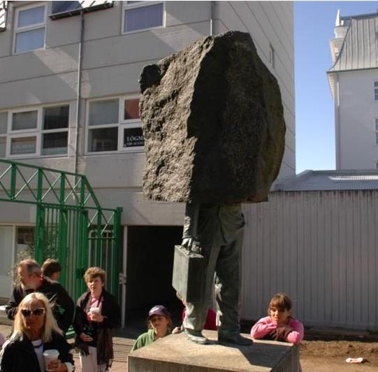 Statue to the unknown public servant