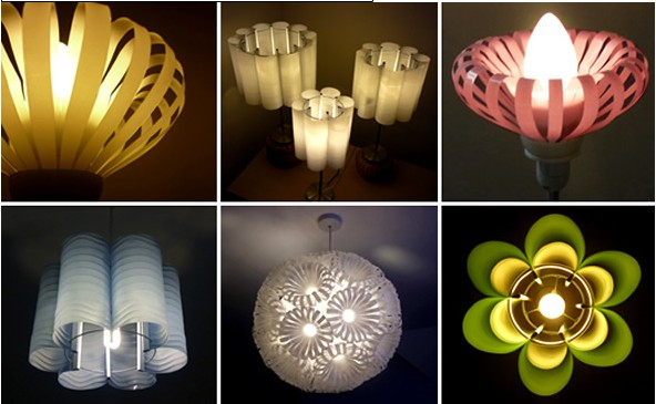 Decorative Lighting from Recycled Plastic Bottles Products