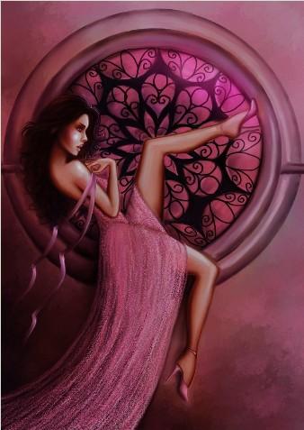 Pink Dalia