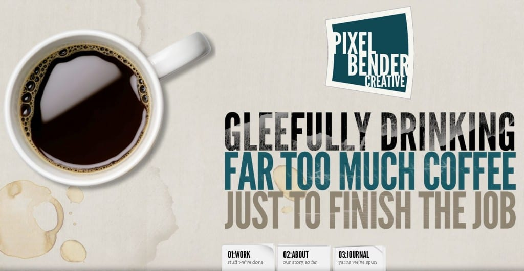 Website Pixel Bender