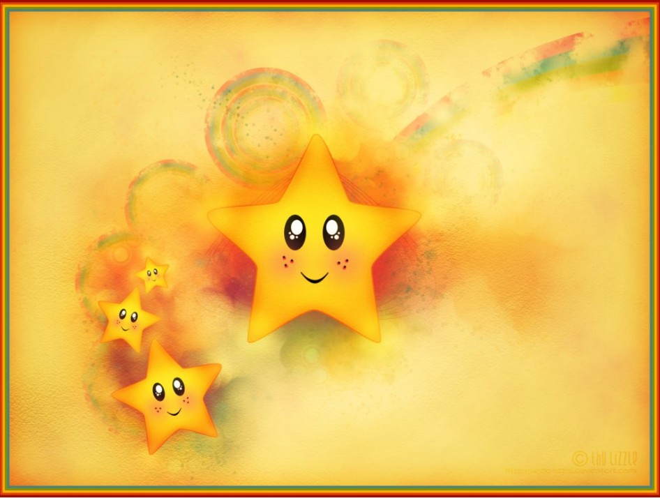 Colorful stars by Star Daze