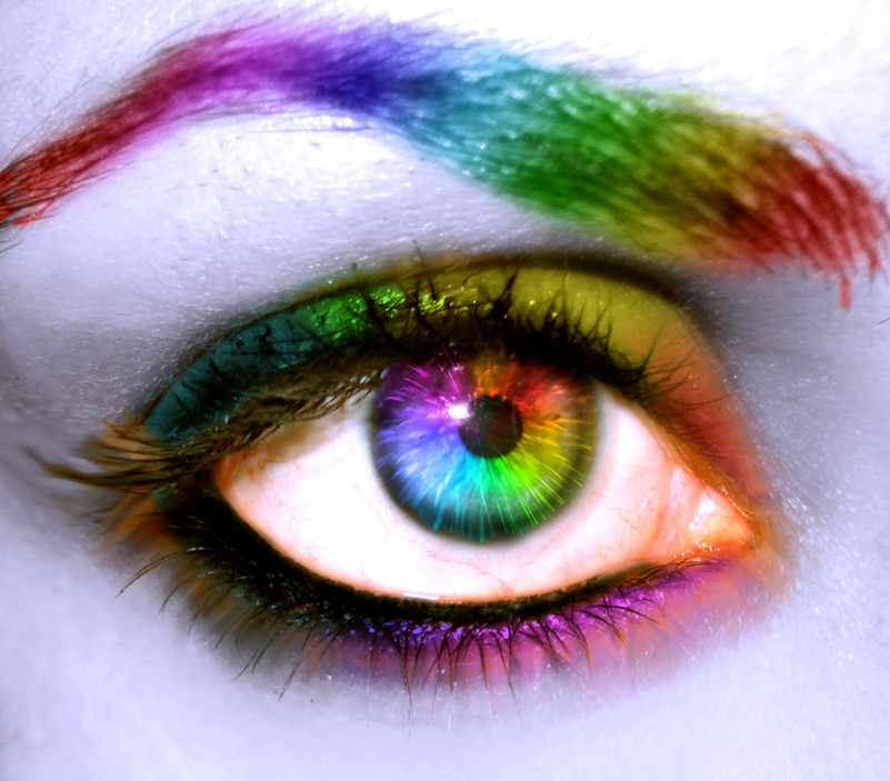 Colorful eye by souhail88