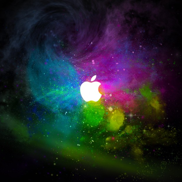 Cosmic Apple Logo