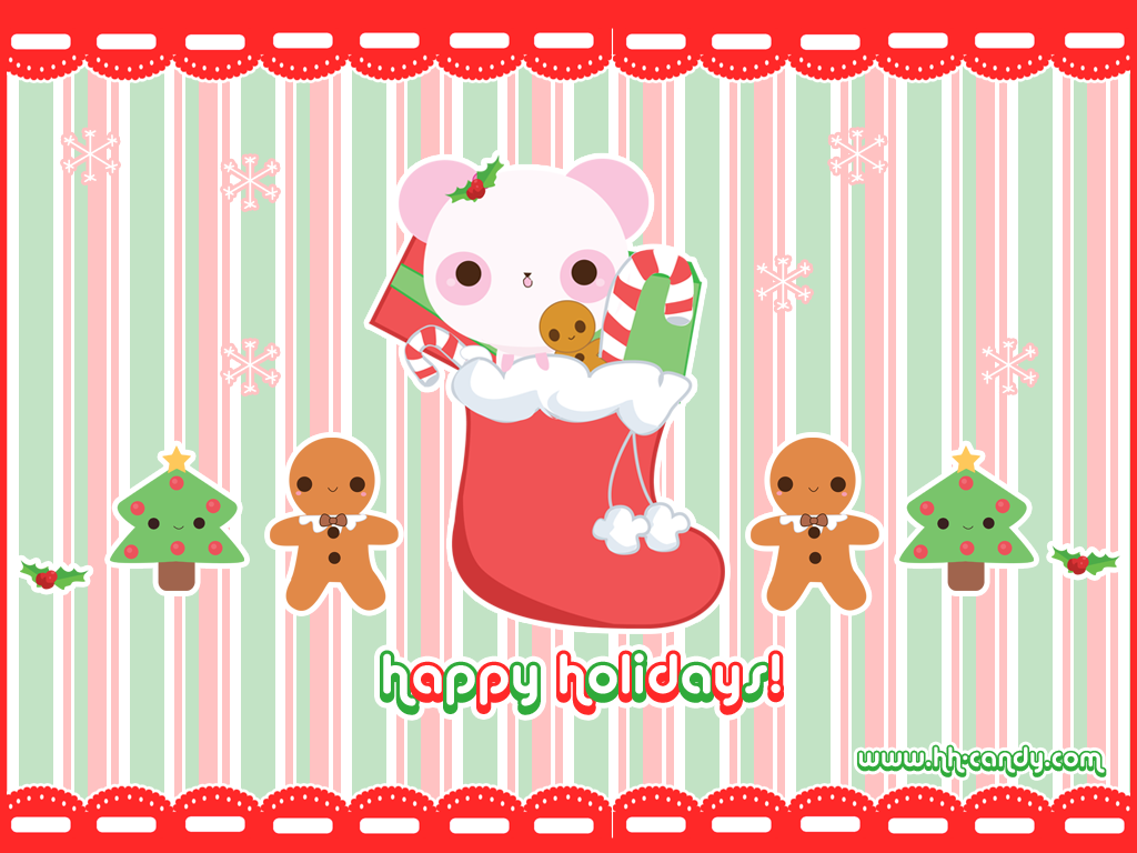 Sweet Holidays Wallpaper