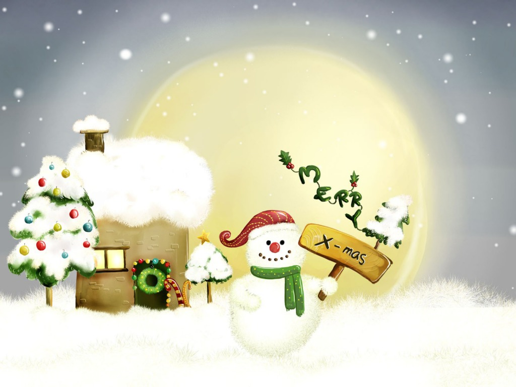 Merry Xmas Wallpaper