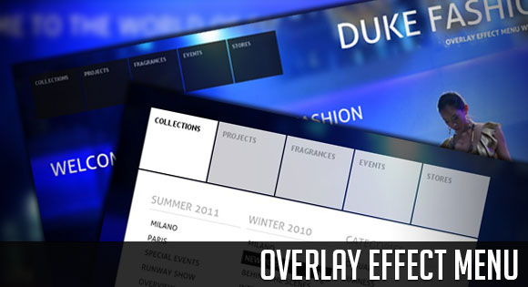 Overlay Effect Menu with jQuery