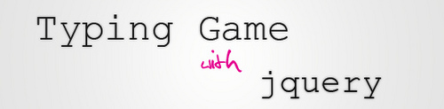 Typing Game with jquery