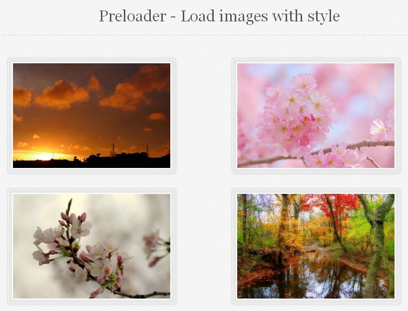 How to Create an Awesome Image Preloader