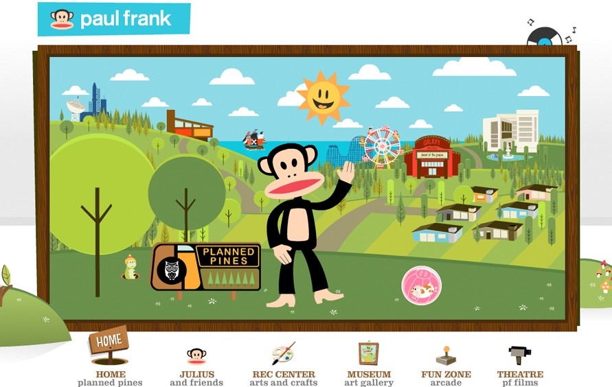 Paul Frank`s Planned Pines