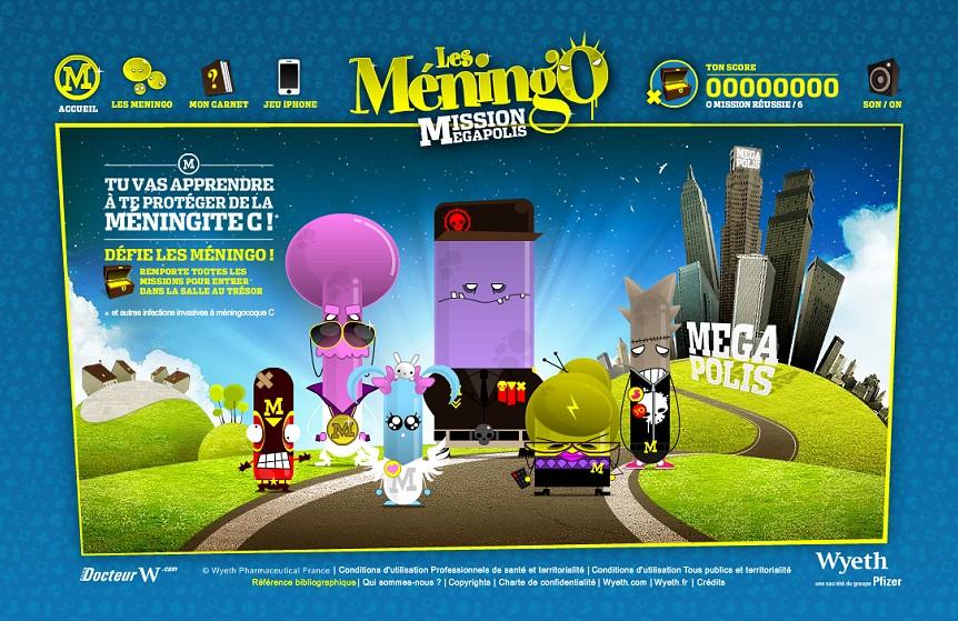 Les Meningo - Mission Megapolis