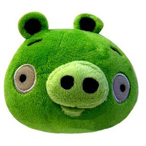 Green Cartoon Mini Pig Plush Toy