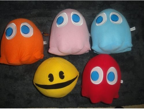 Pac Man Plush Doll Set
