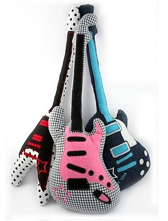 Guitar Shaped Plush Toys