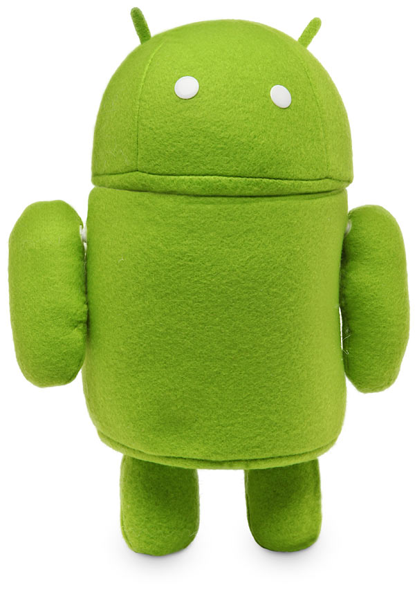Plush Green Android Robot