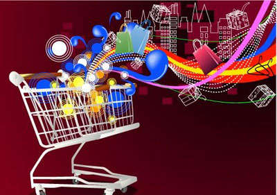 Shopping cart poster