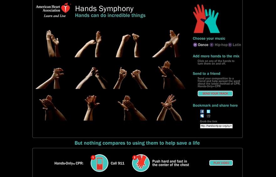 Hands symphony