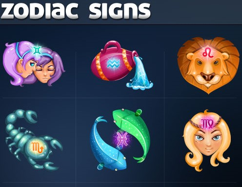 Zodiac Signs Icons