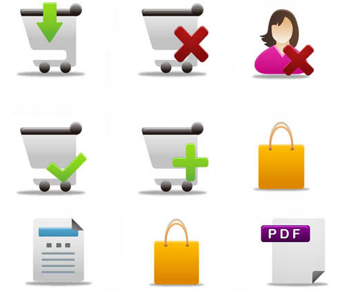 60 Pretty office Icons part 4