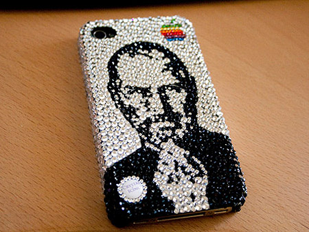 The Swarovski crystal studded Steve Jobs