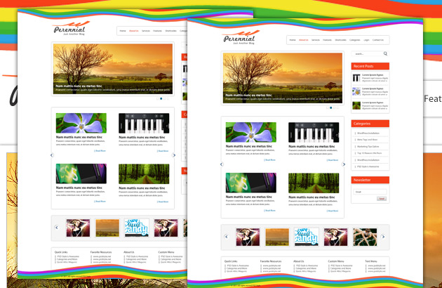 Web Template Blog. free blog template free website templates for ...