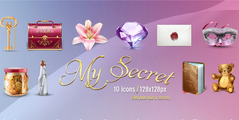 My Secret 10 icons