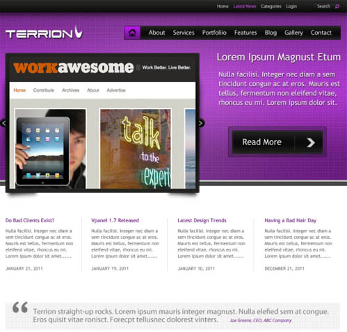 preview Blog CSS/HTML Free
