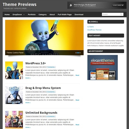 Quik Blogging  Theme