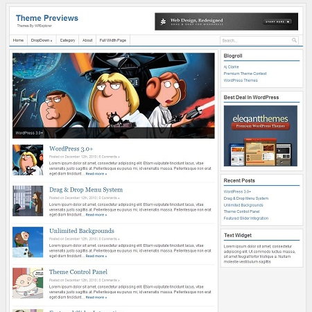 XS Blogging & News Fastest Theme