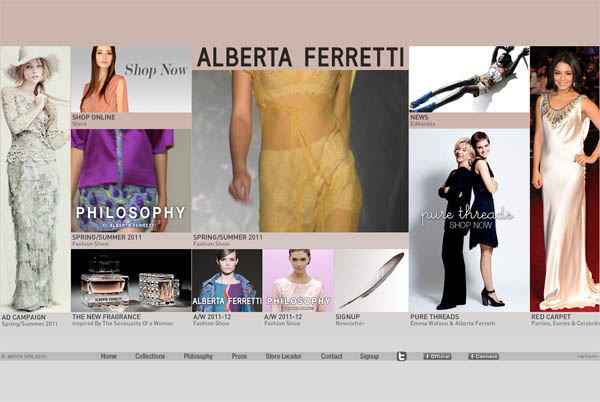 40 Website Designs Of Vip Fashion Designers