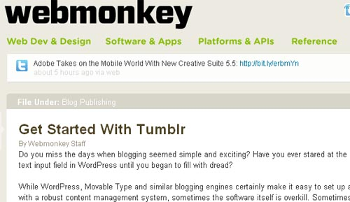 Get Started With Tumblr