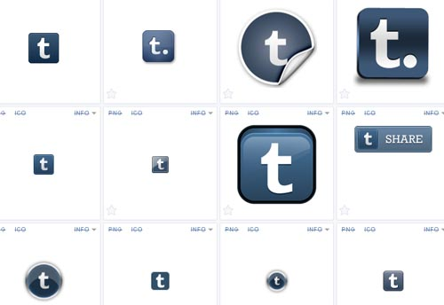 Where to find tumblr icons