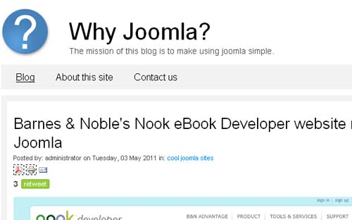 Why Joomla