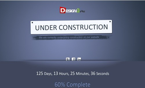 Creative Under Construction Template
