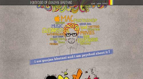 Portfolio of Gunjan Bhutani