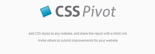 CSS Pivot