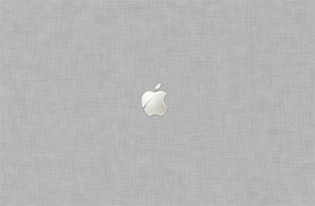 Apple Crosshatch - White