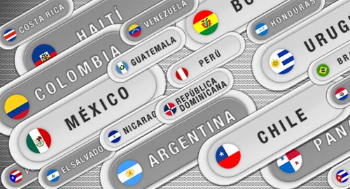 Pixel perfect Latin American Buttons