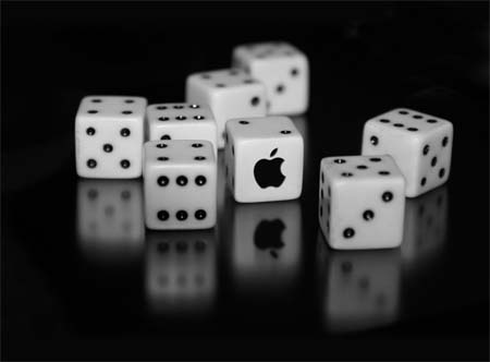 Apple Logo Dice