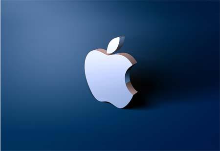 3d apple Theme