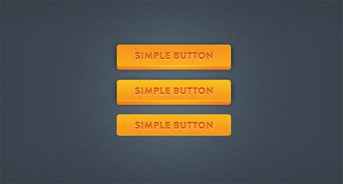 Chunky 3D Button