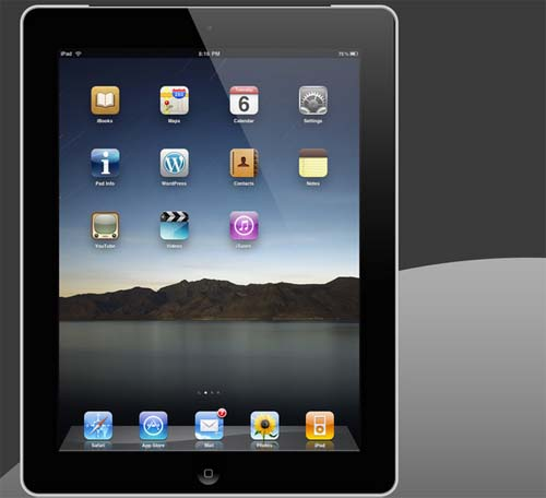 iPad 2 Black by ruky1024