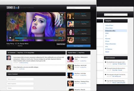Soundsgood is free WordPress theme