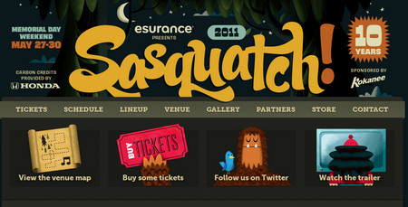 Sasquatchfestival 2011