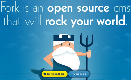 Fork the Open Source CMS