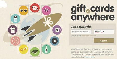Gift Rocket - Online Gift Cards